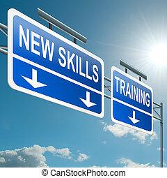 Novo, habilidades, conceito