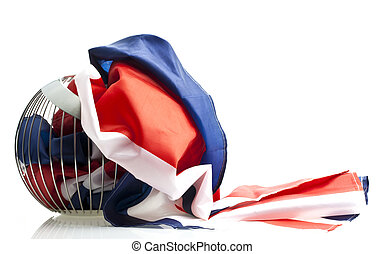 Union Jack Flag background - ideal for the Queens Jubilee, Euro 2012, olympics 2012