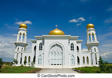 Mosque of Islam. Ayutthaya Province, Thailand.
