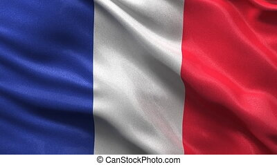 Seamless French Flag