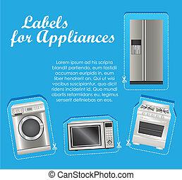 Appliances labels