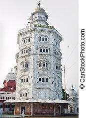 Gurdwara Baba Atal Sahib is the nine-storey octagonal tower,...