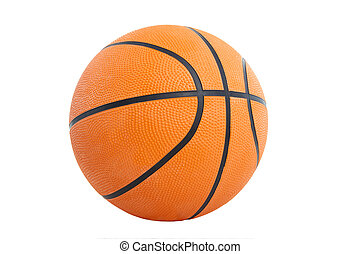 basket ball isolated on the white background