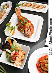Assorted Fresh Thai Foods