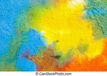 Abstract Water Color  - Abstract Water Color