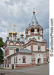 Bogoyavlenskaya Church 1688-1695 g.