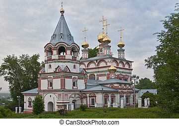 Bogoyavlenskaya Church 1688-1695 g - The temple was built in...
