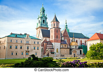 Wawel In Krakow - the Basilica of St Stanislaw and Vaclav or...