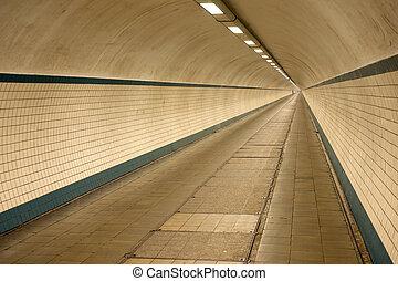 Underground crosswalk in Antwerpen - An underground...