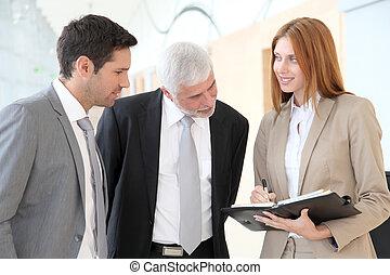 empresa / negocio, negociación