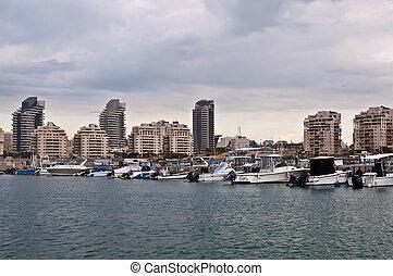 Ashdod . - Mediterranean Sea. Ashdod. Israel.