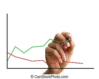 手, 圖表, 圖畫