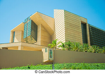 church building - Cathedral Of Our Lady Of The Angels in...