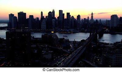 NYC timelapse - Manhatton