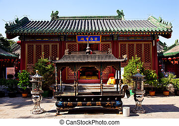 Guanghua Buddha Temple Incence Burner Beijing China