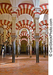 cathedral of Cordoba, Spain - ancient cathedral (Mezquita)...