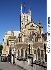 London - Southwark Cathedral - London, United Kingdom -...