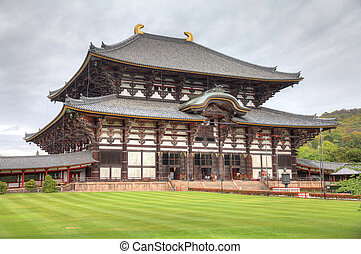 Nara, Japan (Kansai region) - old city on UNESCO World...