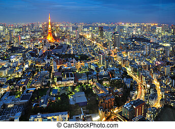 Road to Tokyo Tower
