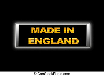 Made in England.