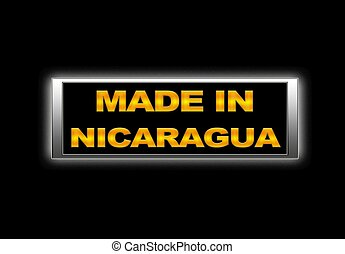 Made in Nicaragua.