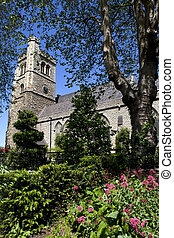 Church of St Mary at Lambeth in London - The church of St...