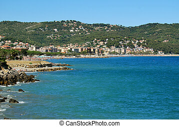 finale ligure - the coast of Finale Ligure, Liguria