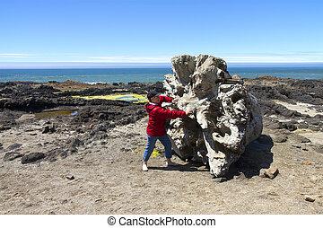 Cape Perpetua, Oregon coast.