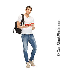 travelling student - bright picture of travelling student...