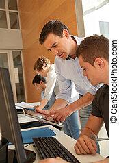 Educador, Porción, Estudiante, entrenamiento, clase