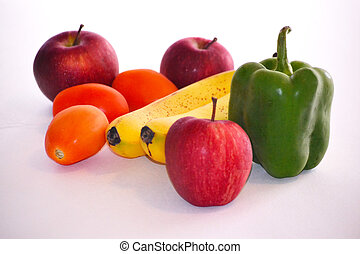 Some Fruits and Veggies - Fruits and Veggies: Apples,...