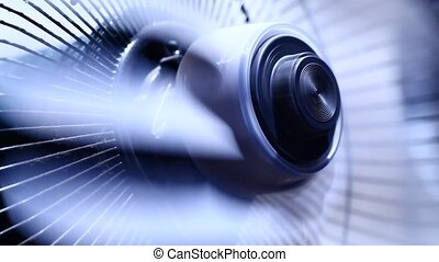 Factory Fan - Close up of Factory Fan