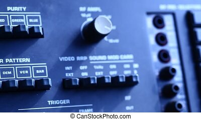 Amplifier - Close up of amplifier