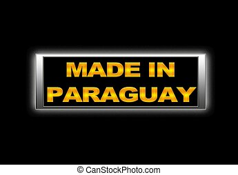 Made in Paraguay.