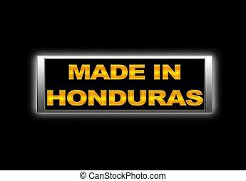 Made in Honduras.