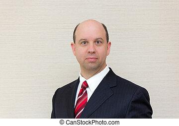 Portrait of a business man  - Portrait of a business man.
