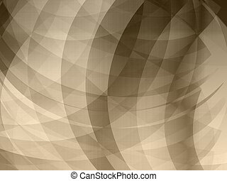 Dark Brown waves rays background - Abstract background for...