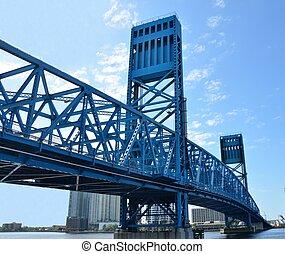 Jacksonvilles Main Street Bridge - Jacksonvilles Florida...