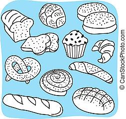 Bageri, produkter