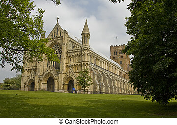 The Cathedral & Abbey Church of Saint Alban in St.Albans, UK