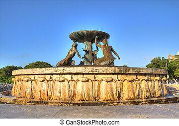 triton, fontaine