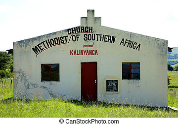 Old Methodist church in South Africa - Coffee Bay