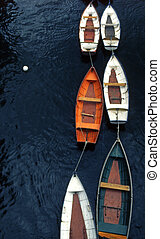 Travel Photos UK - London - Boats on River Thames London,...