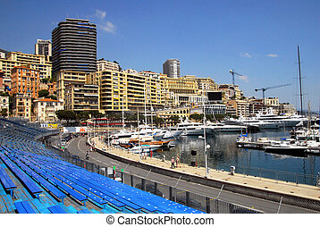 Monaco and Monte Carlo Kingdom - Audience seats for formula...