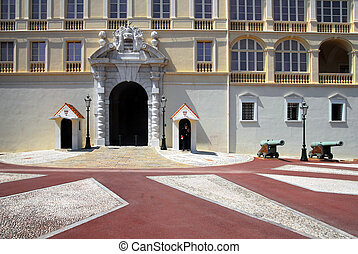 Monaco and Monte Carlo Kingdom - Princes Palace of Monaco in...