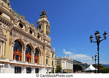 Monaco and Monte Carlo Kingdom - Monte Carlo Casino.