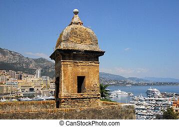 Monaco and Monte Carlo Kingdom - Panorama of La Condamine...