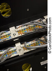 Data control center patch panel