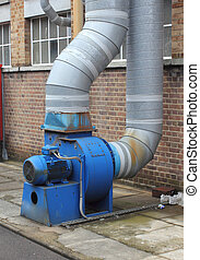 Industrial extractor fan - An industrial large extraction...