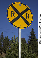 Rail road sign